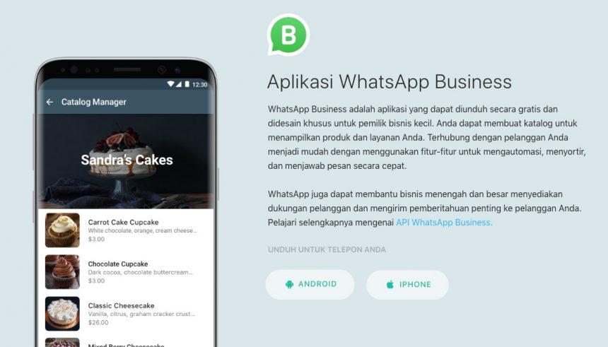 Mengenal WhatsApp Business dan Fitur-Fiturnya