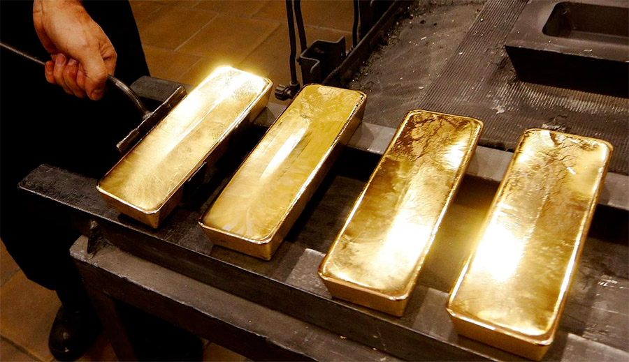 Peleburan emas