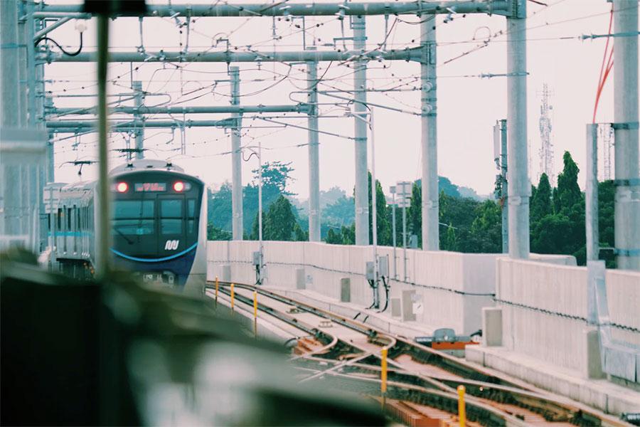 MRT Jakarta pun memanfaatkan teknologi IoT
