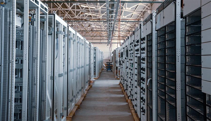 Infrastruktur server