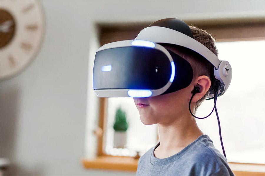 Salah satu contoh perangkat augmented reality